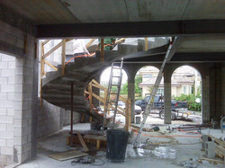 Cast in Place Circular Stair System