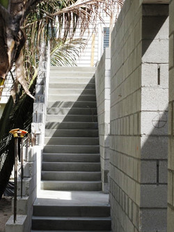 Cast in Place Exterior Stairs