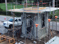Base for Concrete Pyramid