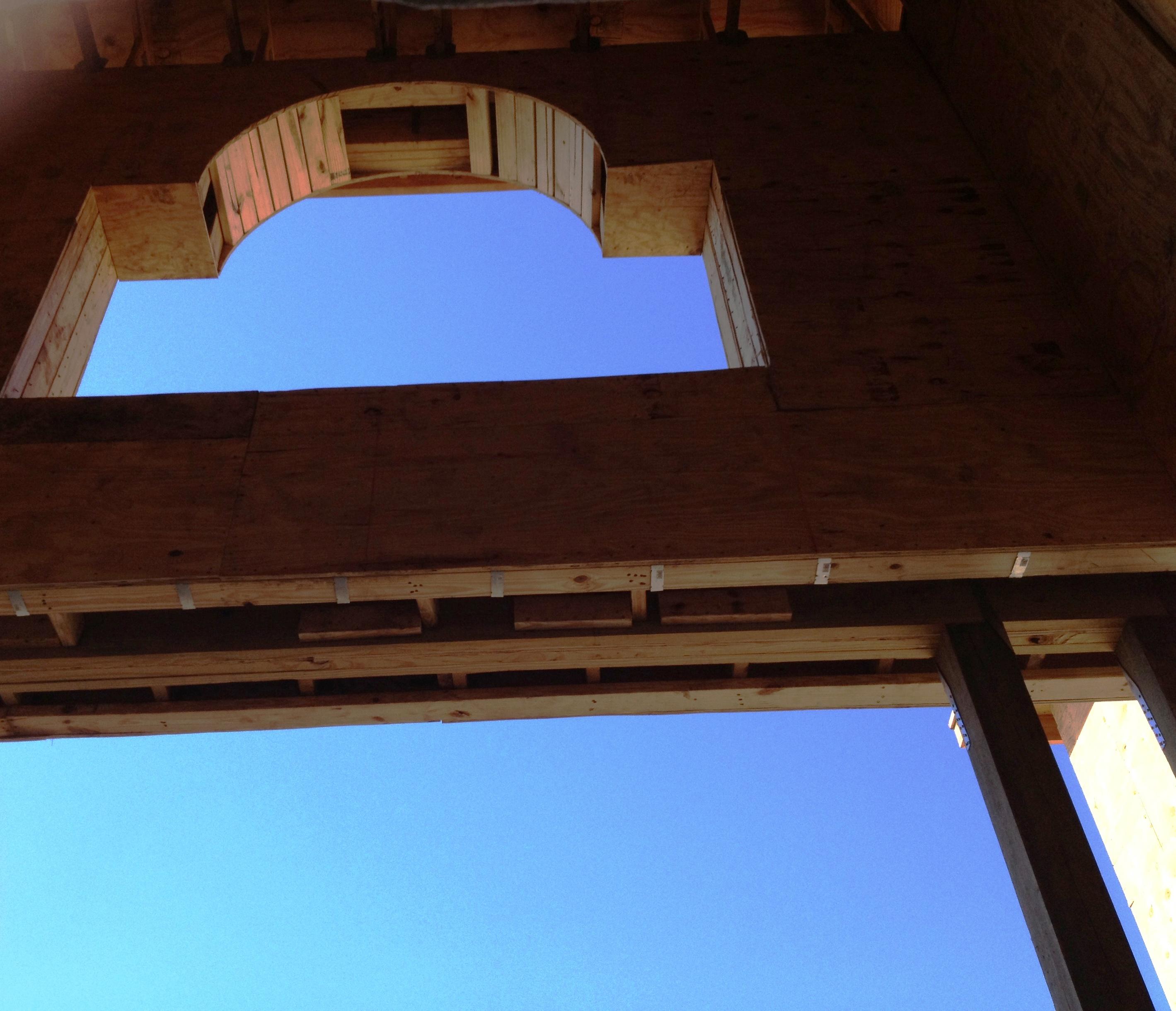 Wood Framed Arch