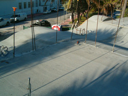 South Beach 'The Wave' Cast in Place Roof Deck