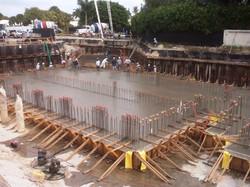 Cast in Place Basement in Progress