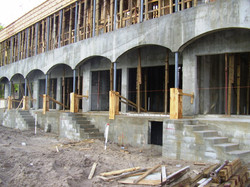 Townhome Project in Progress