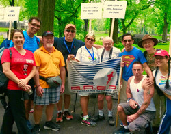 AREA Team AIDS WALK NYC 2015