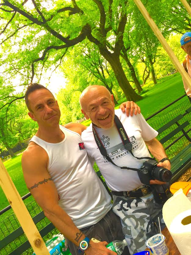 Brent and Charlie AIDS WALK 2015