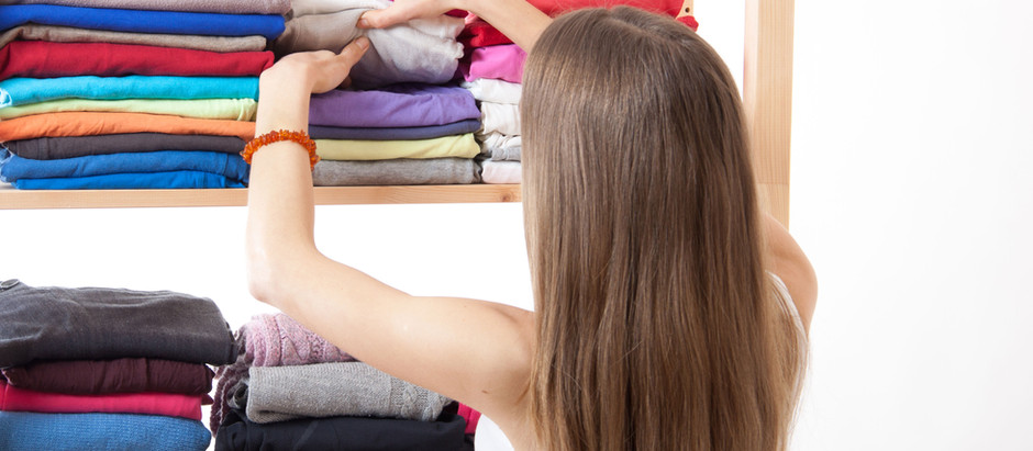 Feel calm and joy with clearing clutter & organising