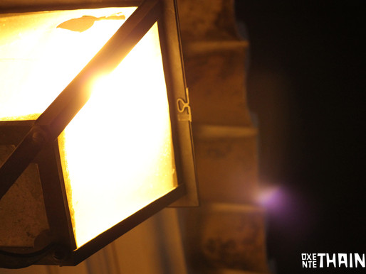 Quando voltar, acenda a luz