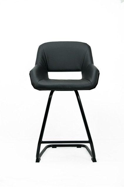 Picard Mk II jet black - Bar & lounge chair