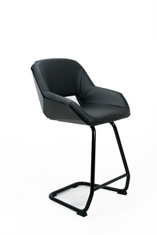 Picard Mk II jet black - Bar & lounge chair
