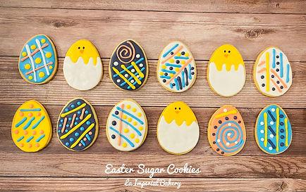 Easter Sugar Cookies 2021 - La Imperial