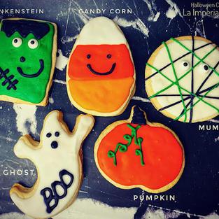Halloween Sugar Cookie Desings