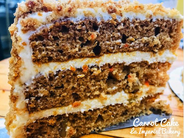 Carrot Cake - La Imperial Bakery