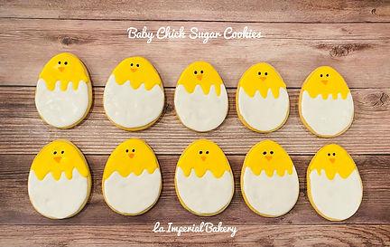 Baby Chick Sugar Cookies - La Imperial B