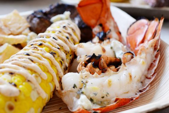 Grilled Maine Lobster