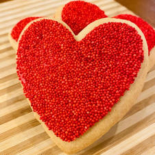Red Heart Sugar Cookie