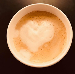 Espresso Coffee with Steamed Milk