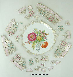 Meissen porcelain basket 01