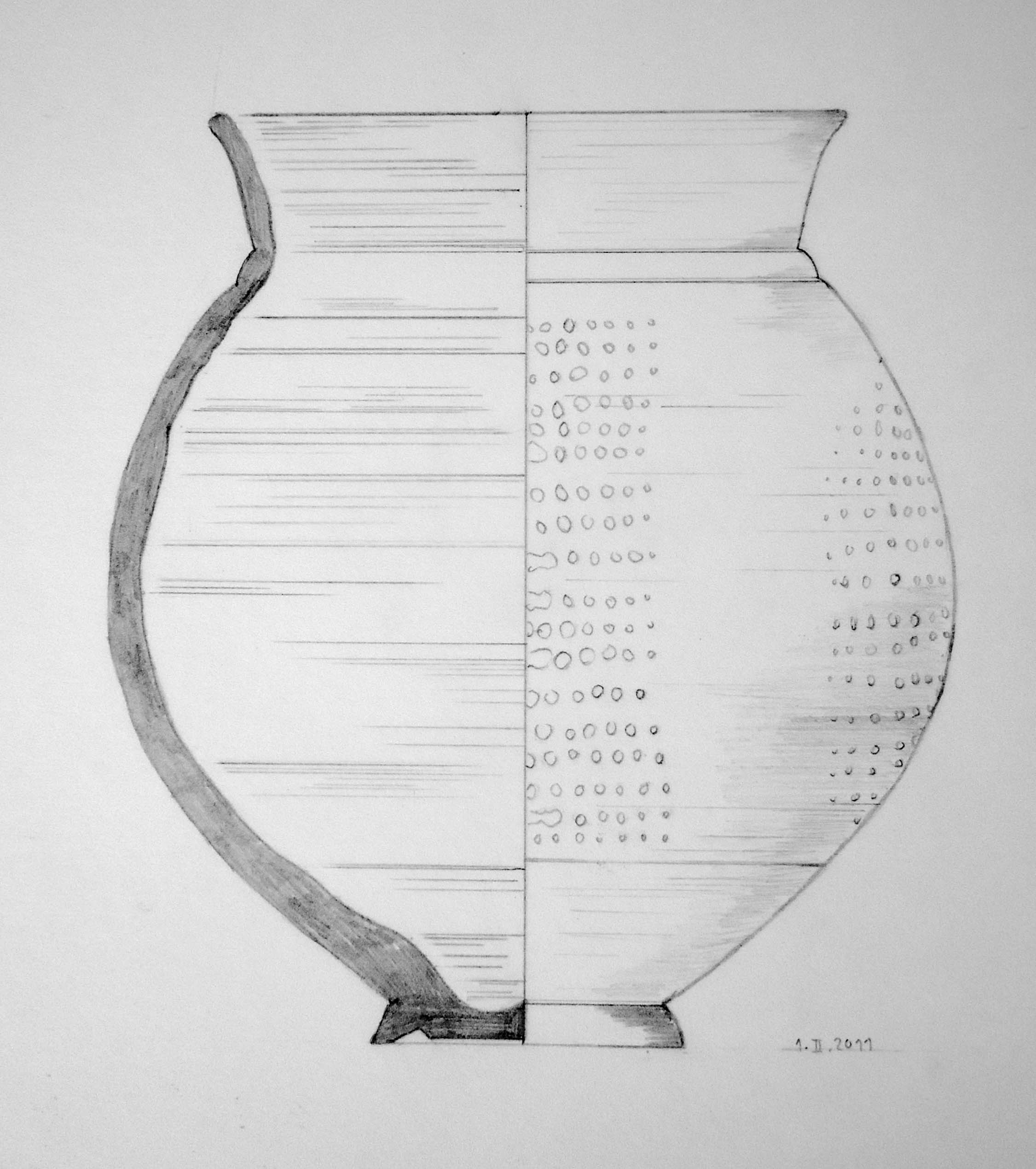 Roman slipware beaker 02