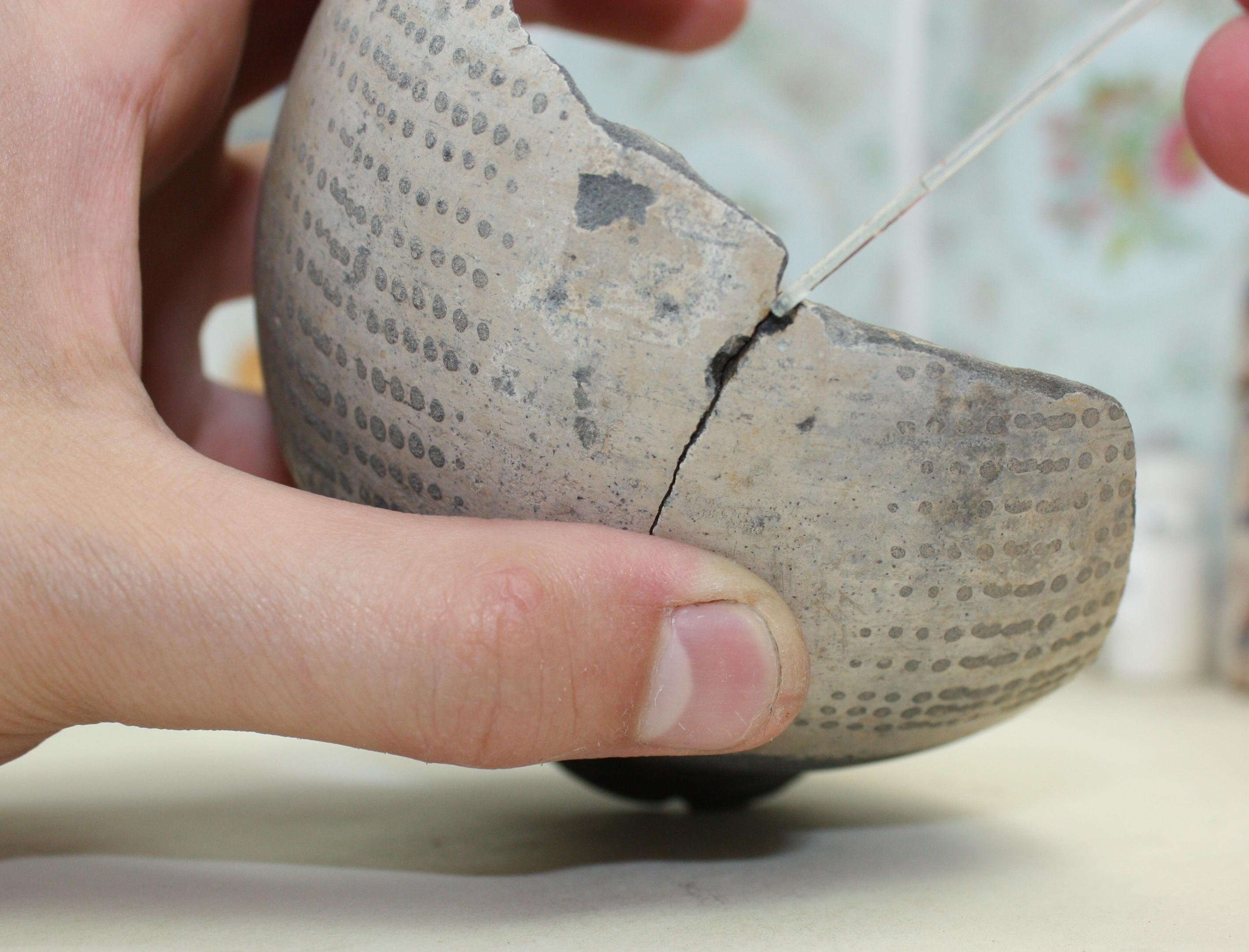 Roman slipware beaker 03