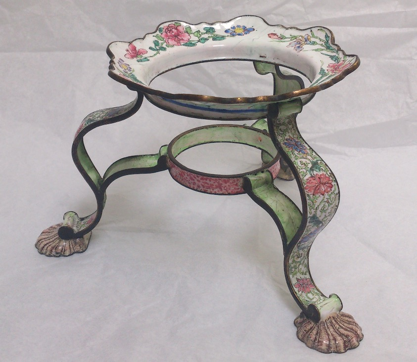 Canton enamel stand