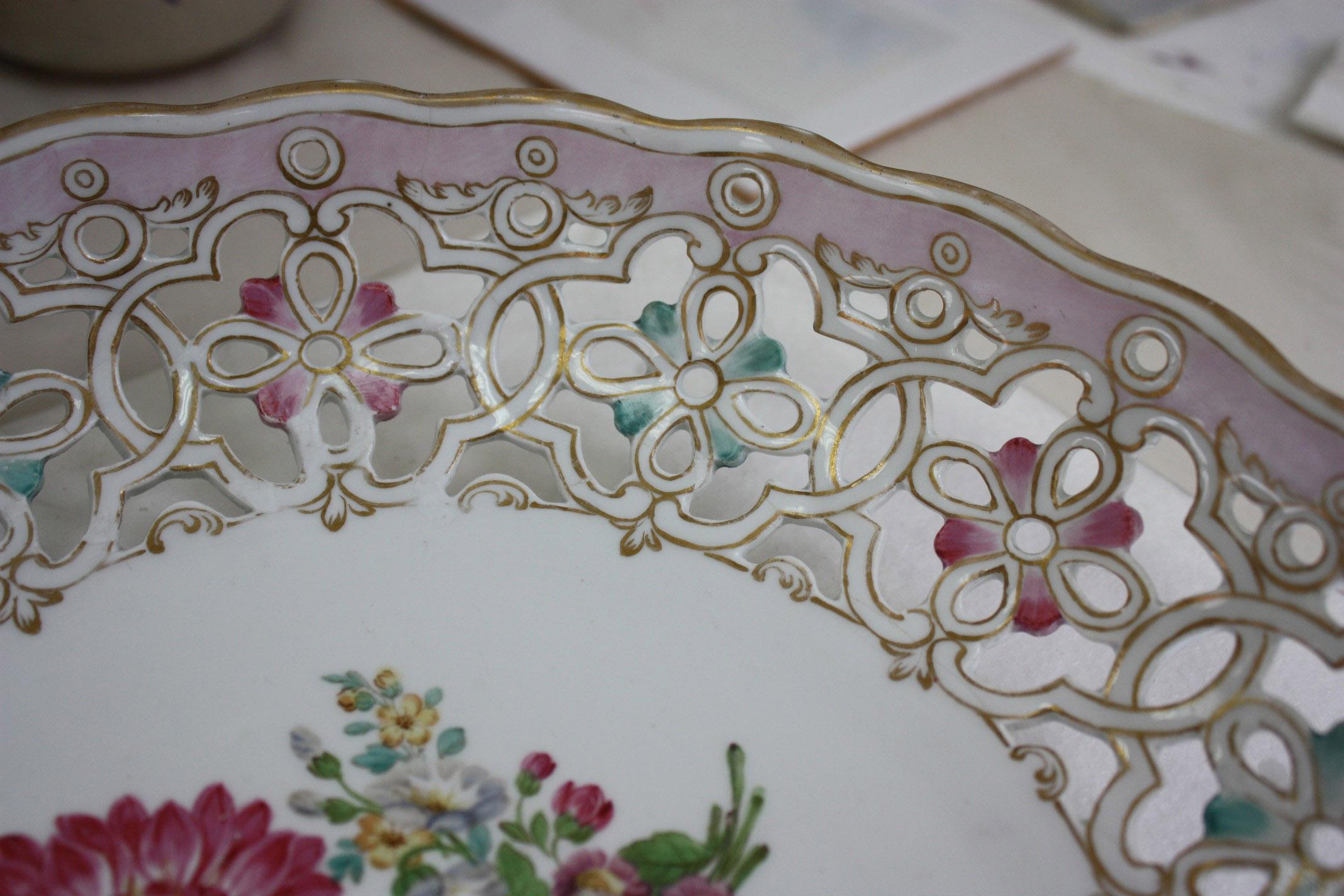 Meissen porcelain basket 05