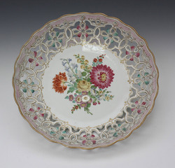 Meissen porcelain basket 06