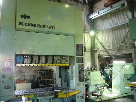 岡山工場レベラーフィーダー導入
