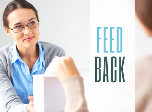 """Why we need to stop """"giving"""" feedback"""