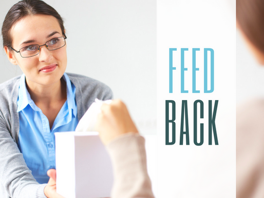 "Why we need to stop ""giving"" feedback"