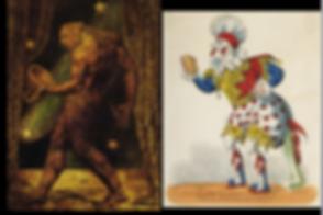 Flea & 18th C Clown together.png