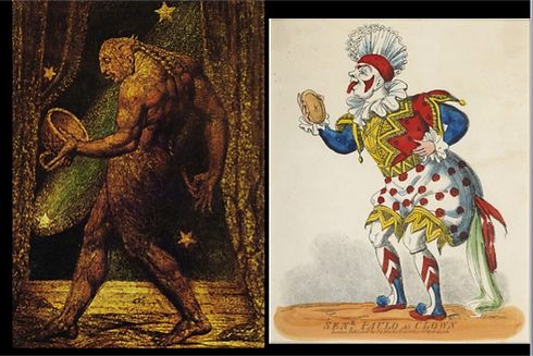 Flea & 18th C Clown together.png