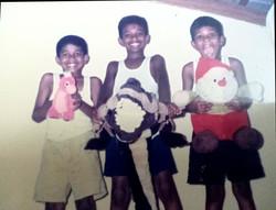Siblings, Aged 10