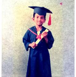 Pre-School Graduation, Aged 6