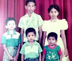 Siblings, Aged 4