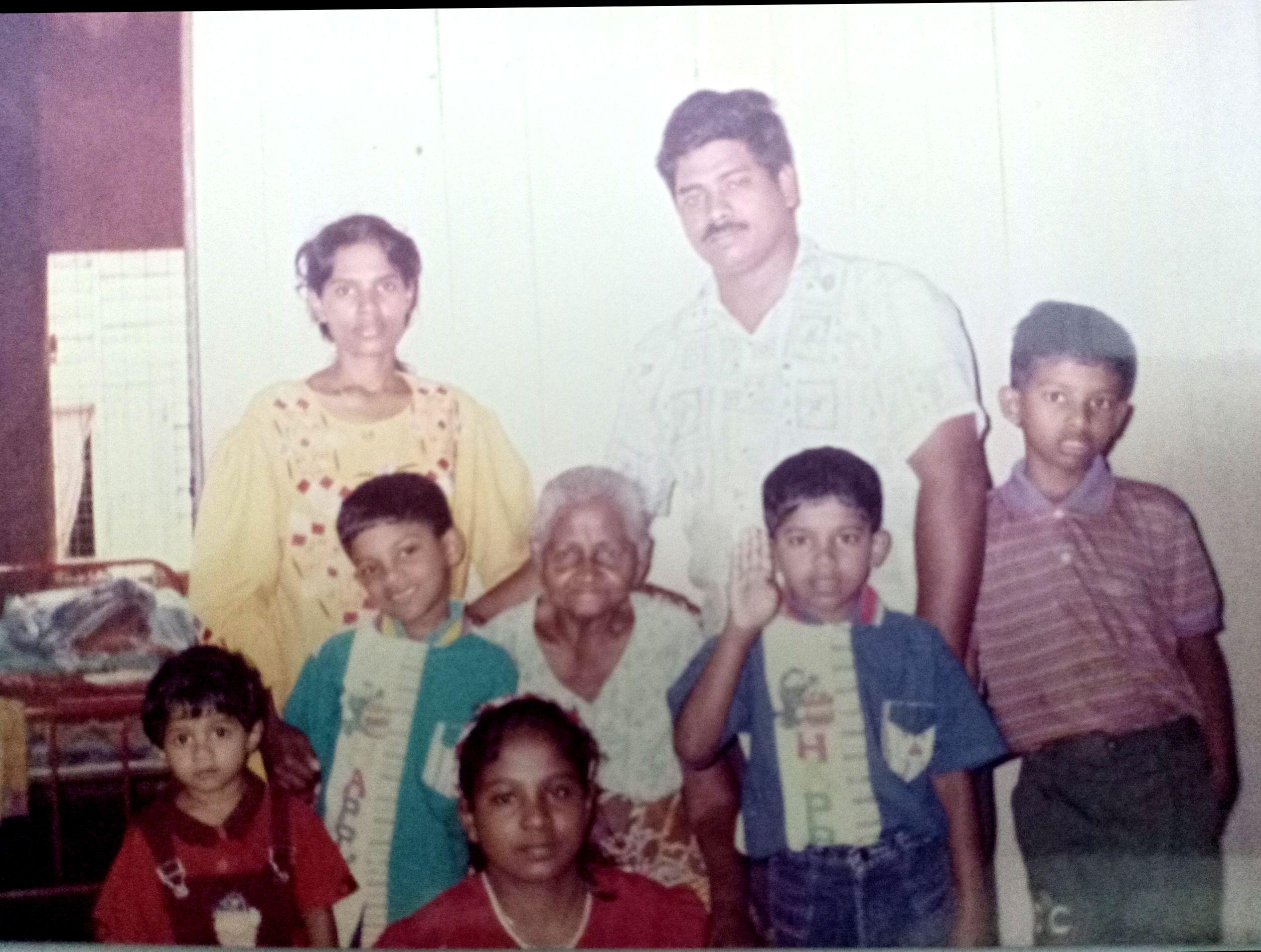 Visiting Grandma, Aged 7