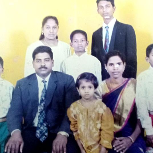 Family Photo, Aged 11