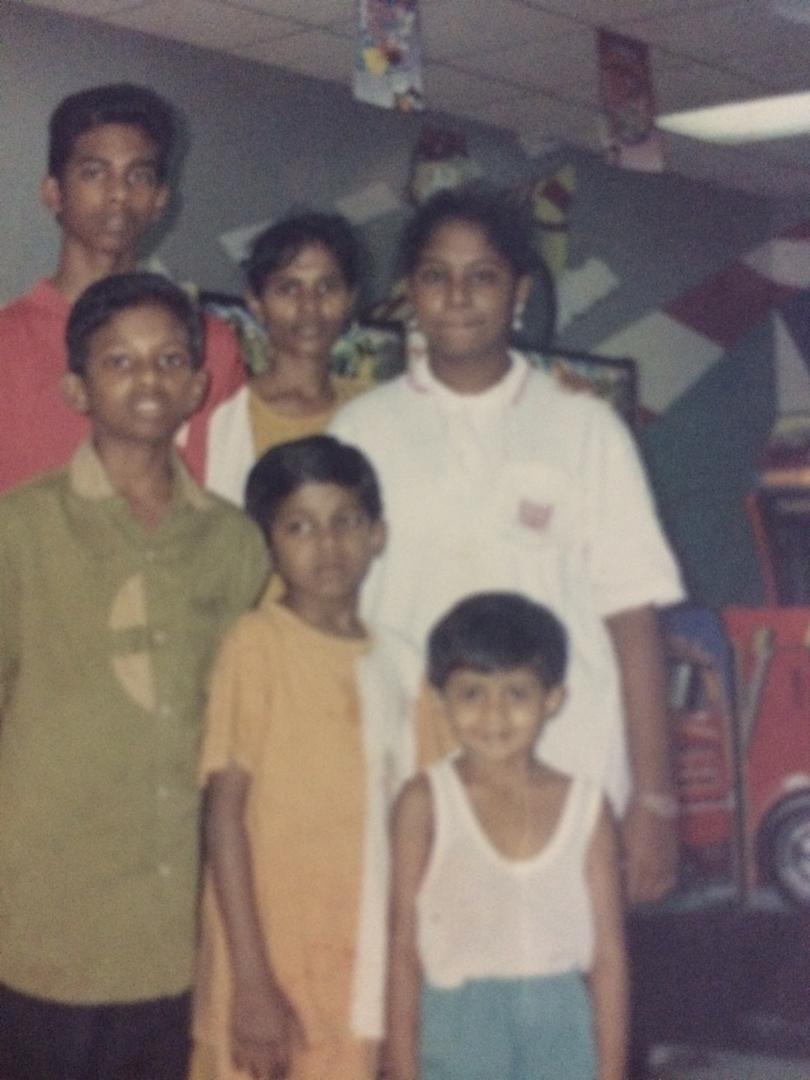 Pannir with family