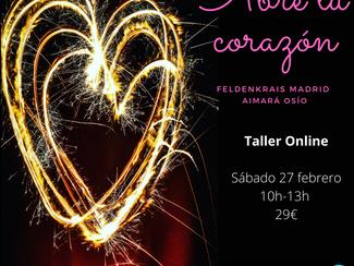 Taller ABRE TU CORAZÓN, parte 1ª - 27/02/2021