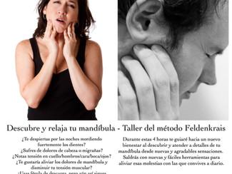 Próximo taller de Feldenkrais - Mandíbula
