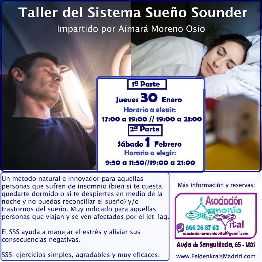 Taller Sistema Sueño Sounder Insomnio Mo