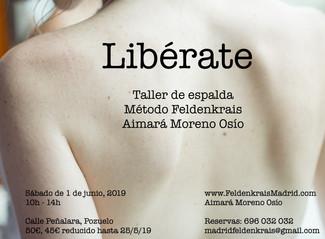LIBÉRATE - Taller 1 de junio 2019