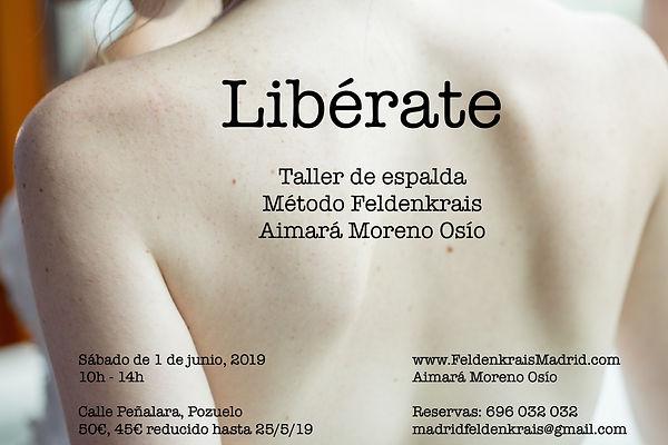 LIBERATE TALLER ESPALDA FELDENKRAIS MADR