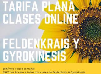 Clases online - Tarifa plana Coronavirus