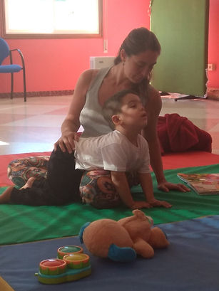 Feldenkrais Madrid terapia ninos Aimara.