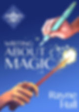 Rayne Hall - Writing about magic book cover