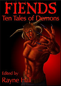 Rayne Hall - Fiends: Ten tales of Demons book cover