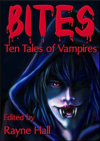 Rayne Hall - Bites: Ten tales of vampires book cover