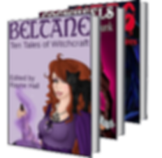 Rayne Hall - Belcane: Ten tales of witchcraft book cover