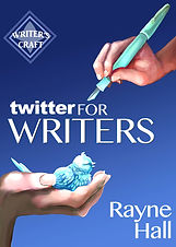Rayne Hall - Twitter for Writers book cover