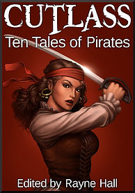 Rayne Hall - Cutlass: Ten tales of Pirates book cover